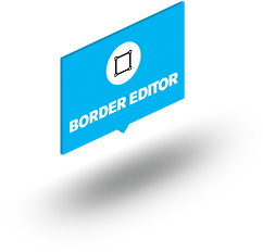Border-bubble