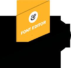 Font-bubble
