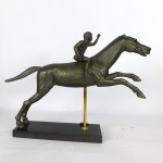 Horse and jockey from Artemission