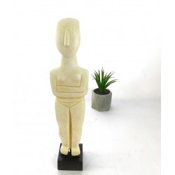 Cycladic female figure