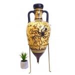 Minoan amphora on a bronze tripod